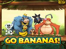 Игровой автомат Вперед Бананы с бонусами